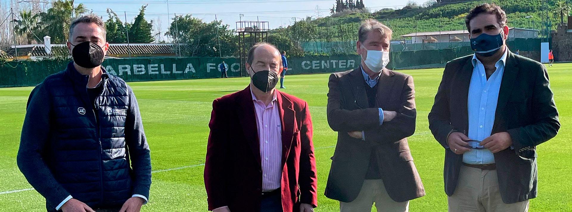 El Consistorio alcanza un acuerdo con Marbella Football Center situado en San Pedro Alcántara