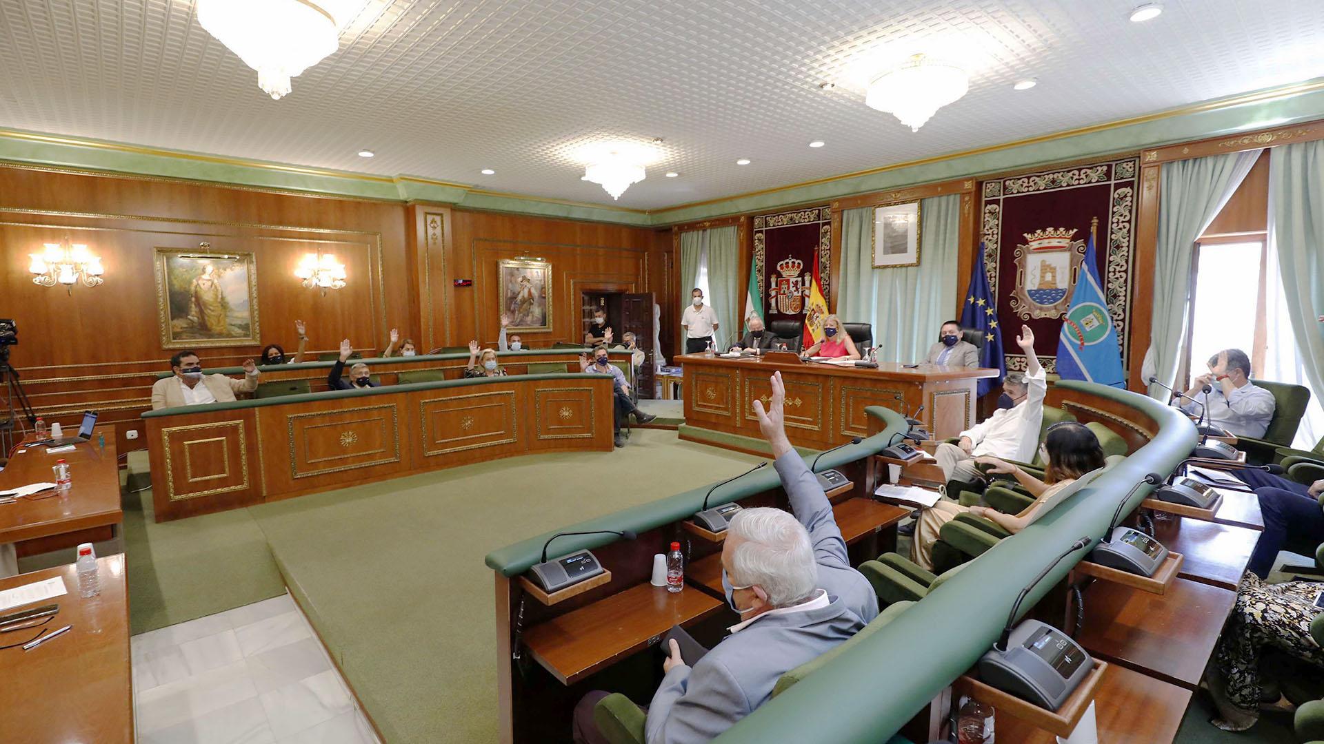 El Pleno municipal ratifica el documento de avance del PGOU