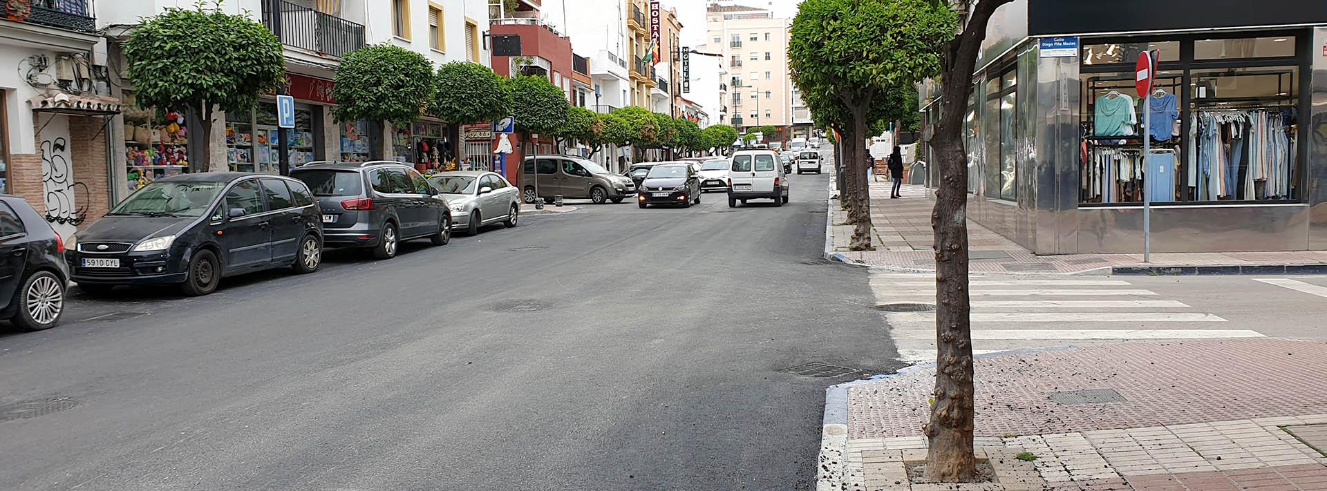 Con el asfaltado, terminan las obras en la red de saneamiento de la Avenida Oriental