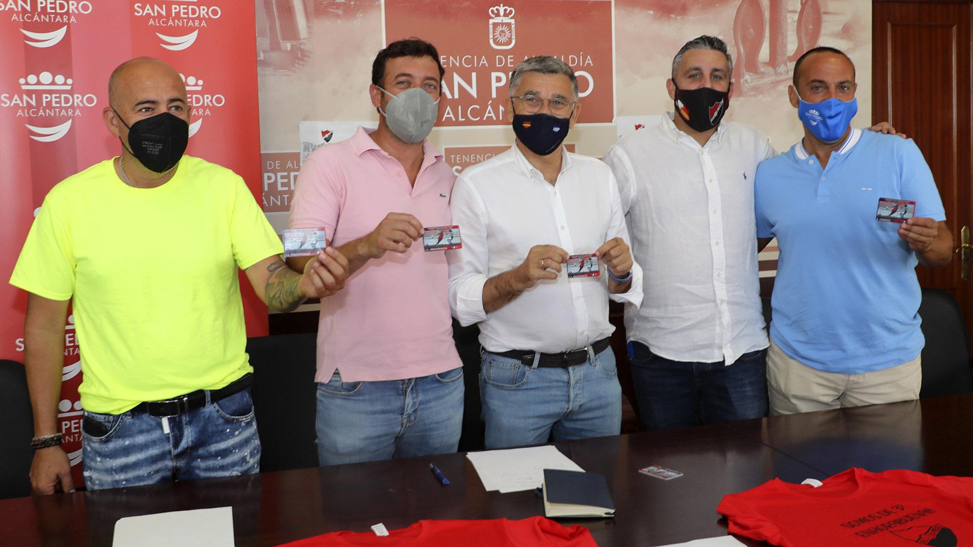 Presentada la campaña de abonos para la temporada 2021-2022 de la UD San Pedro