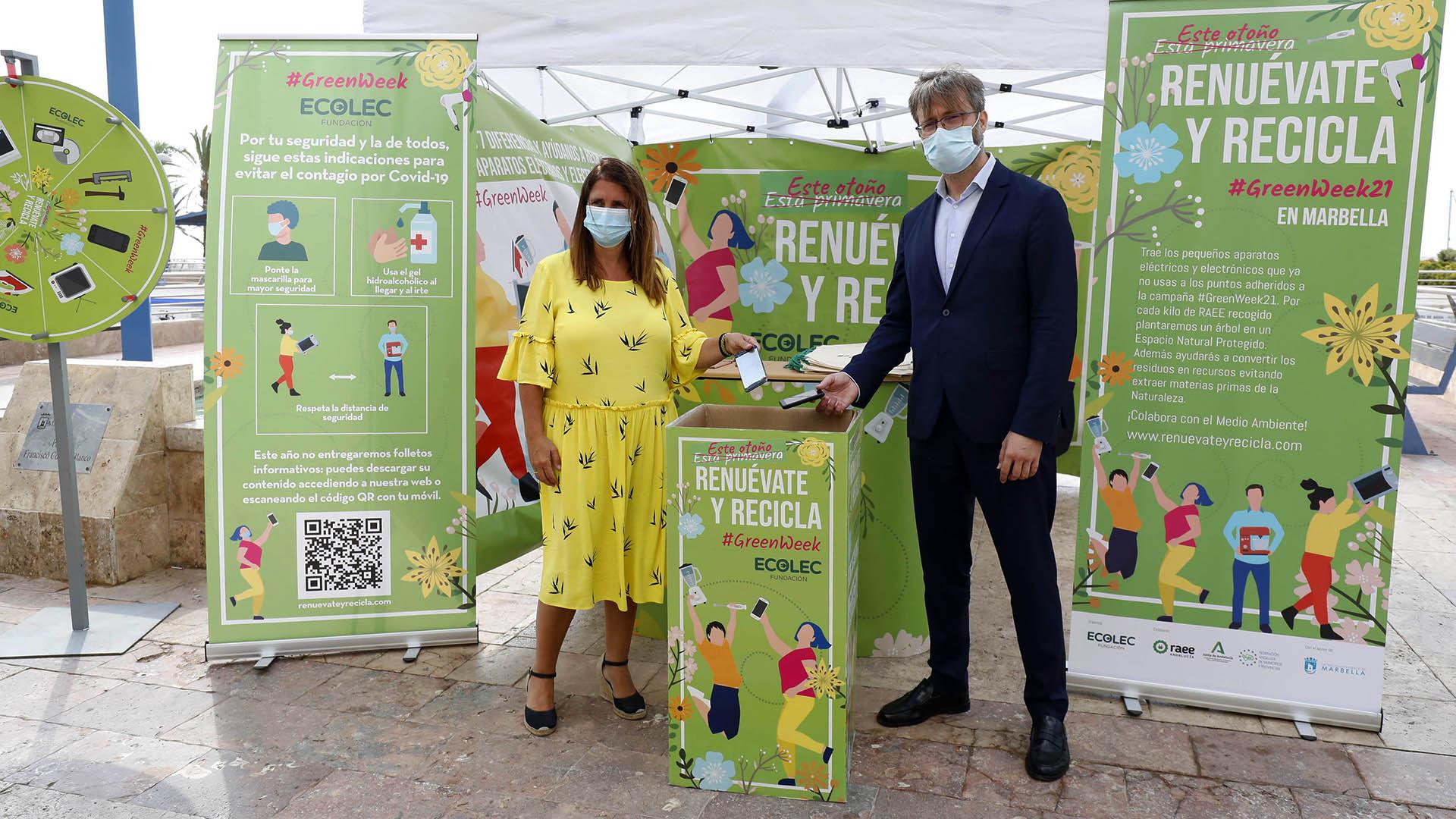 Campaña de reciclaje de aparatos electrónicos y electrodomésticos