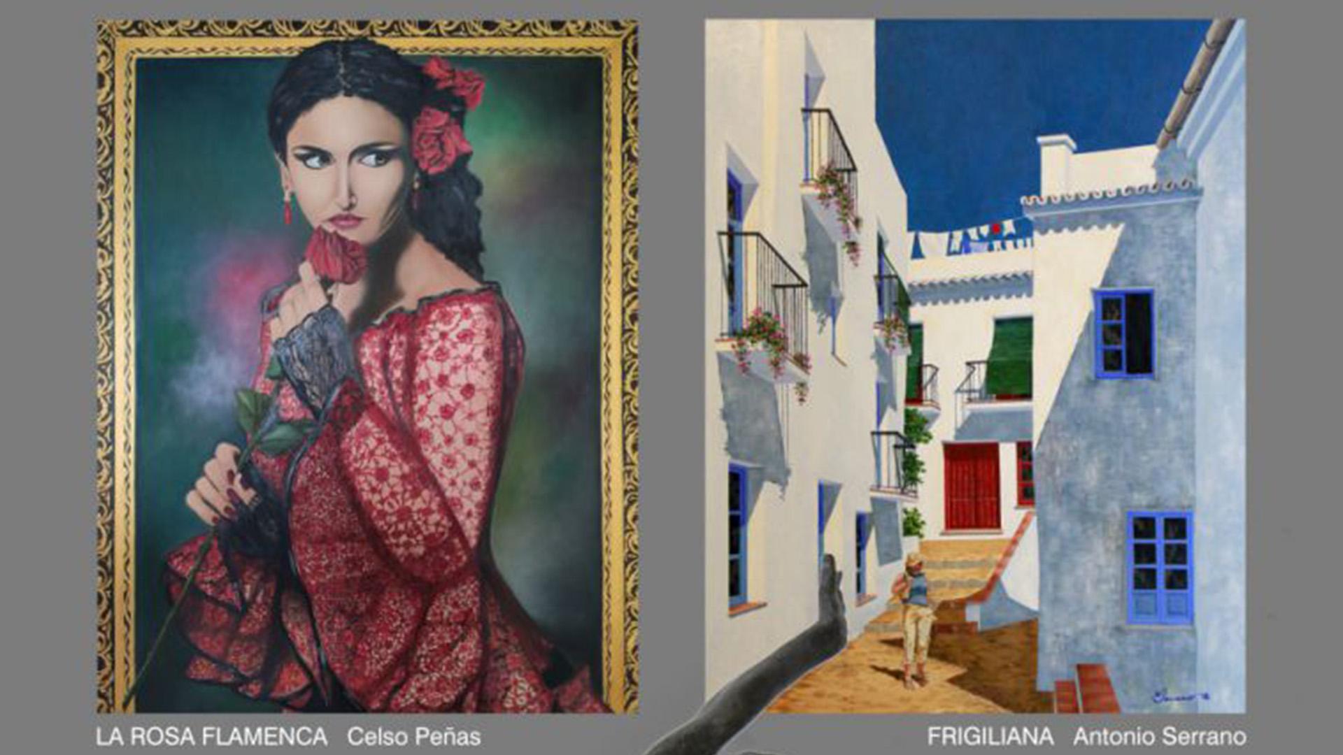 Exposición de pintura y escultura de Celso Peñas y Antonio Serrano