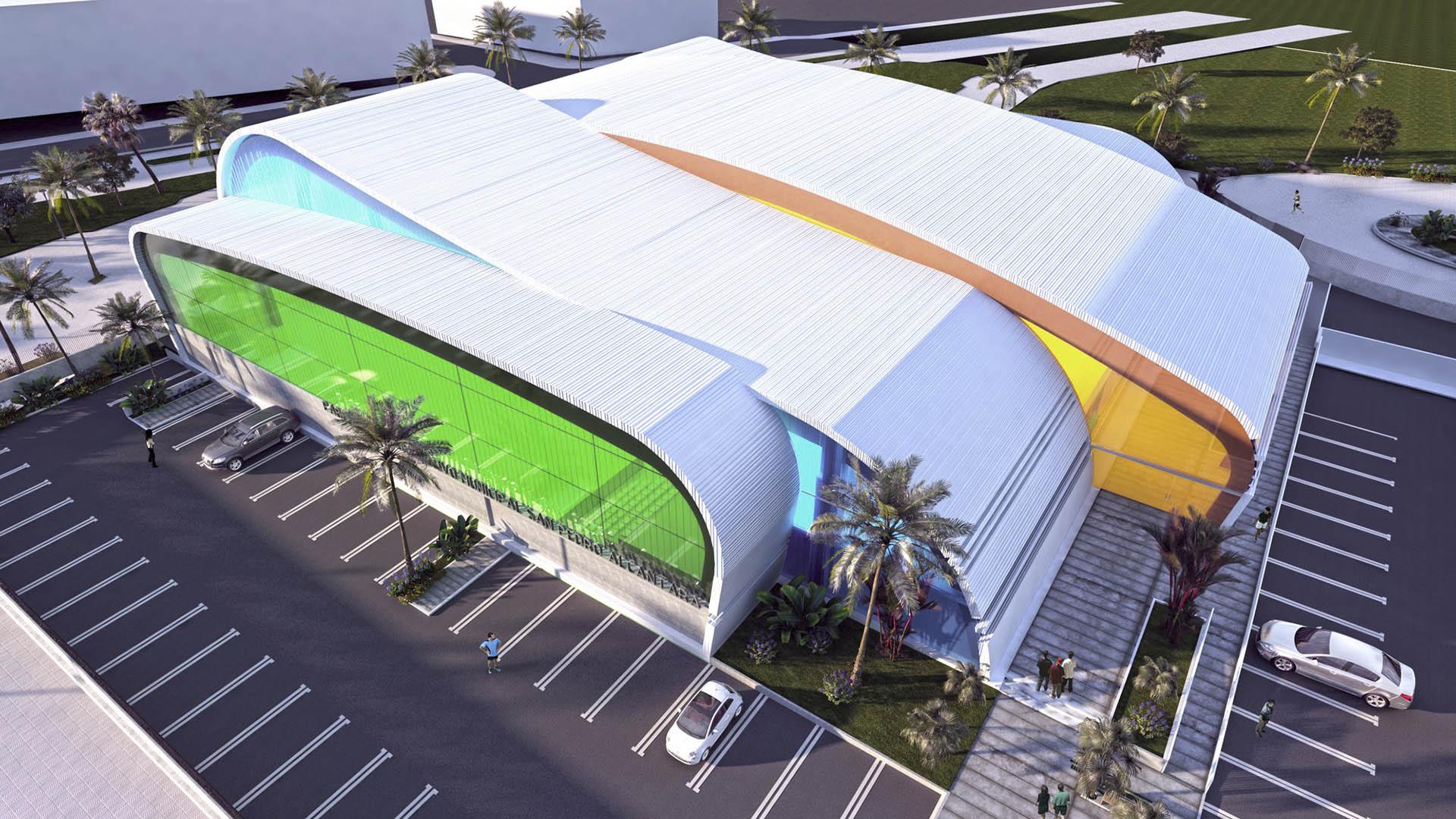 Sale a concurso por casi 5,7 millones de euros la obra del nuevo pabellón polideportivo de San Pedro Alcántara