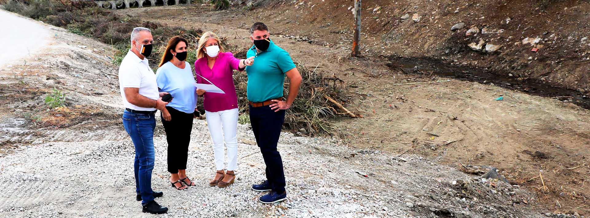 Continúa la limpieza del río Guadaiza