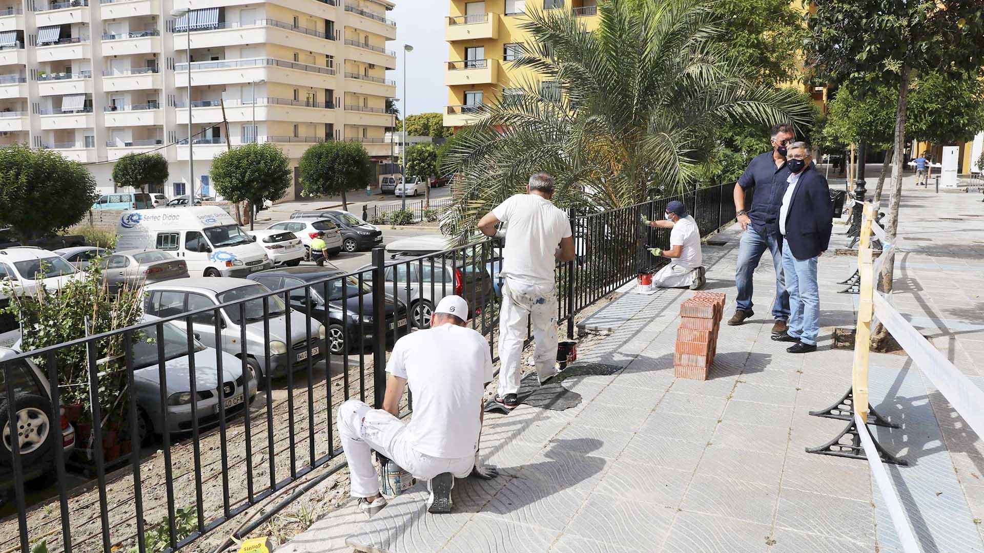 Obras de mejora y mantenimiento en Guadalcántara