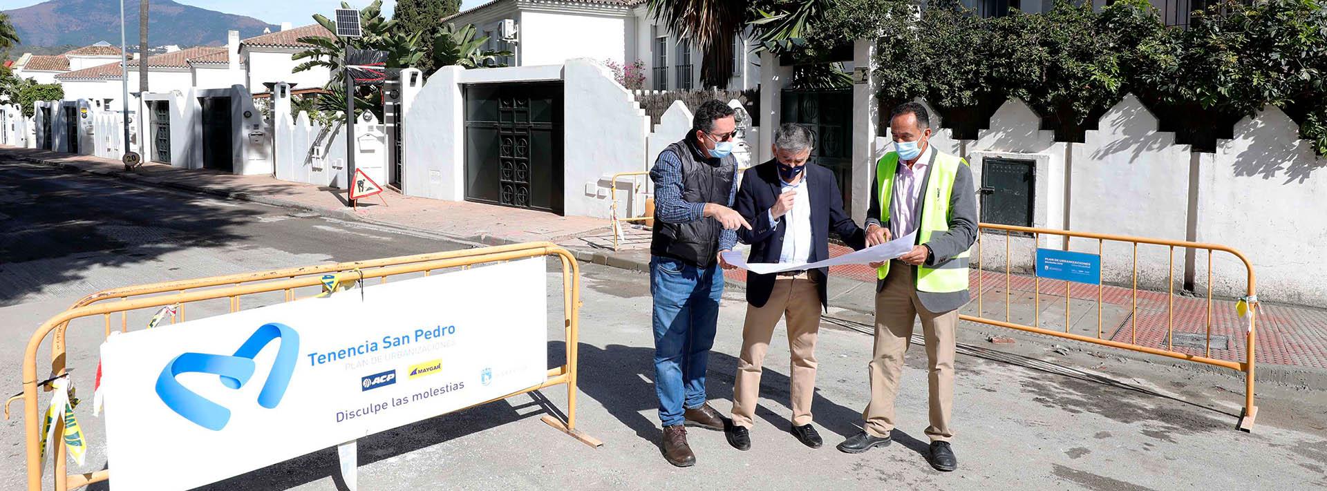 Realizan obras de mejora en los caminos de La Granadilla y Cortes