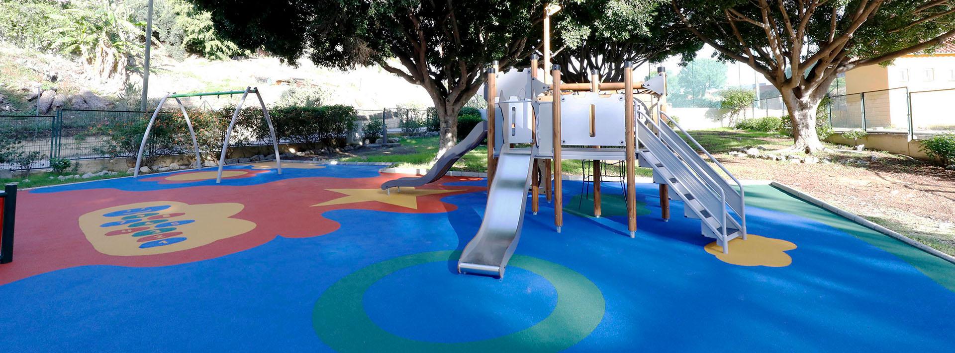 Nuevo acondicionamiento del parque infantil de El Salto del Agua
