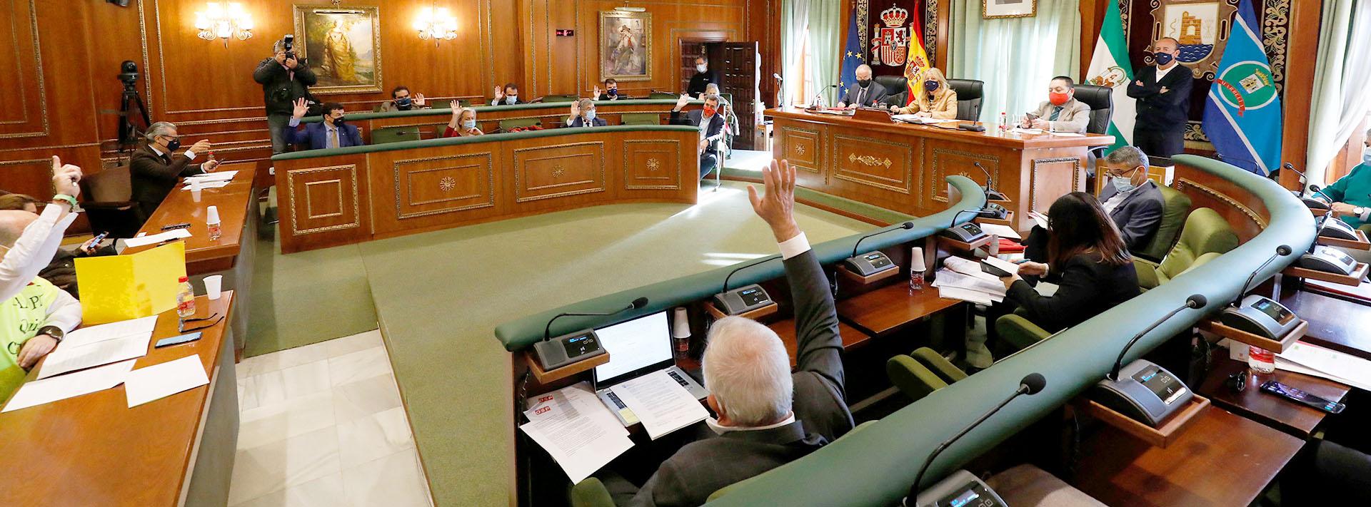 El Ayuntamiento solicitará la cesión de un tramo de la carretera de Ronda a la Junta de Andalucía