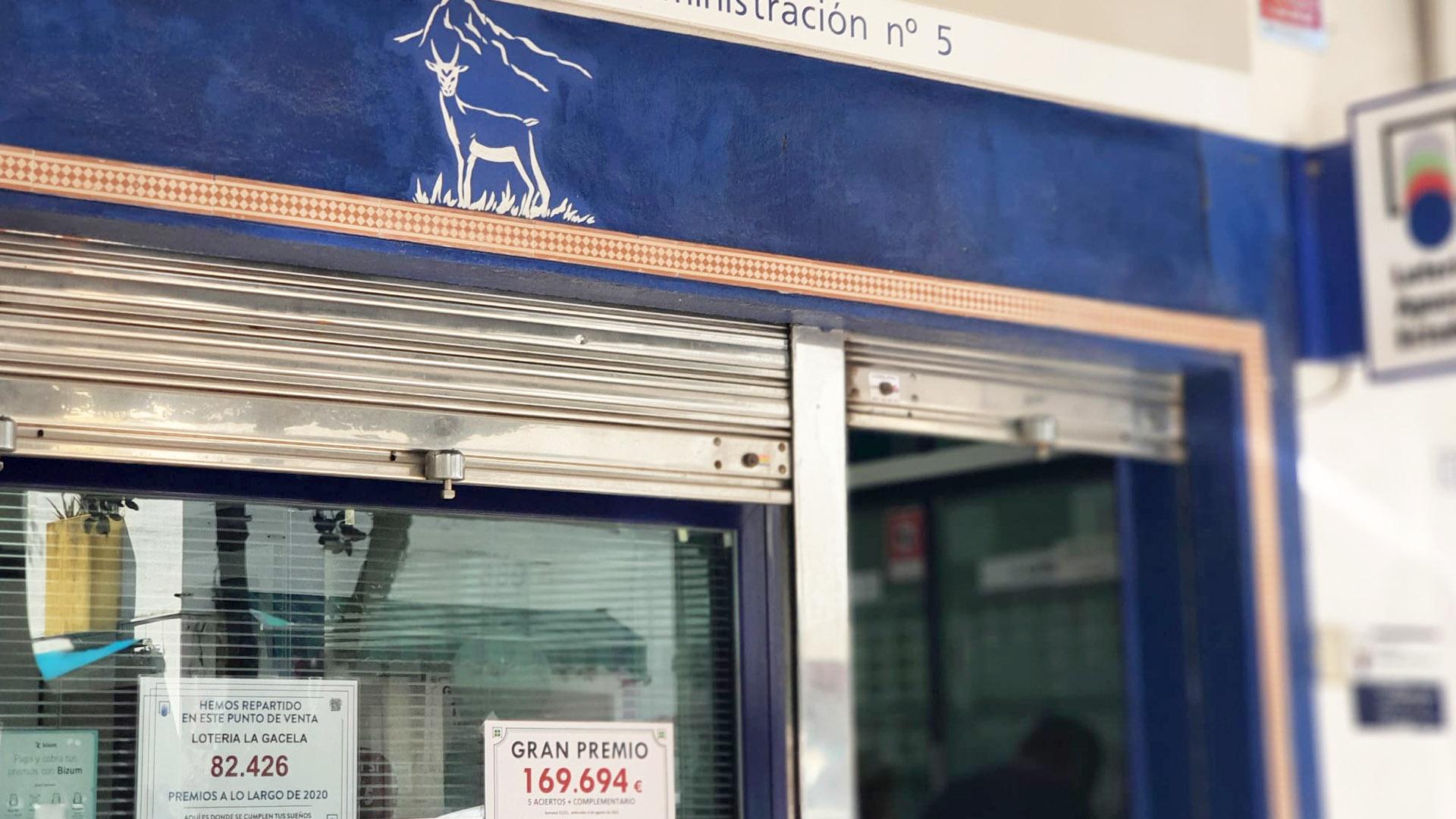 La Bonoloto deja en San Pedro Alcántara casi 170.000 euros