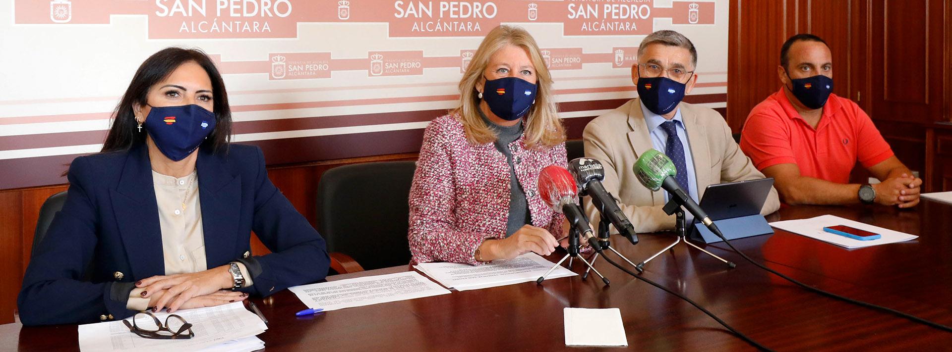 Anuncian una subida del presupuesto municipal para San Pedro Alcántara