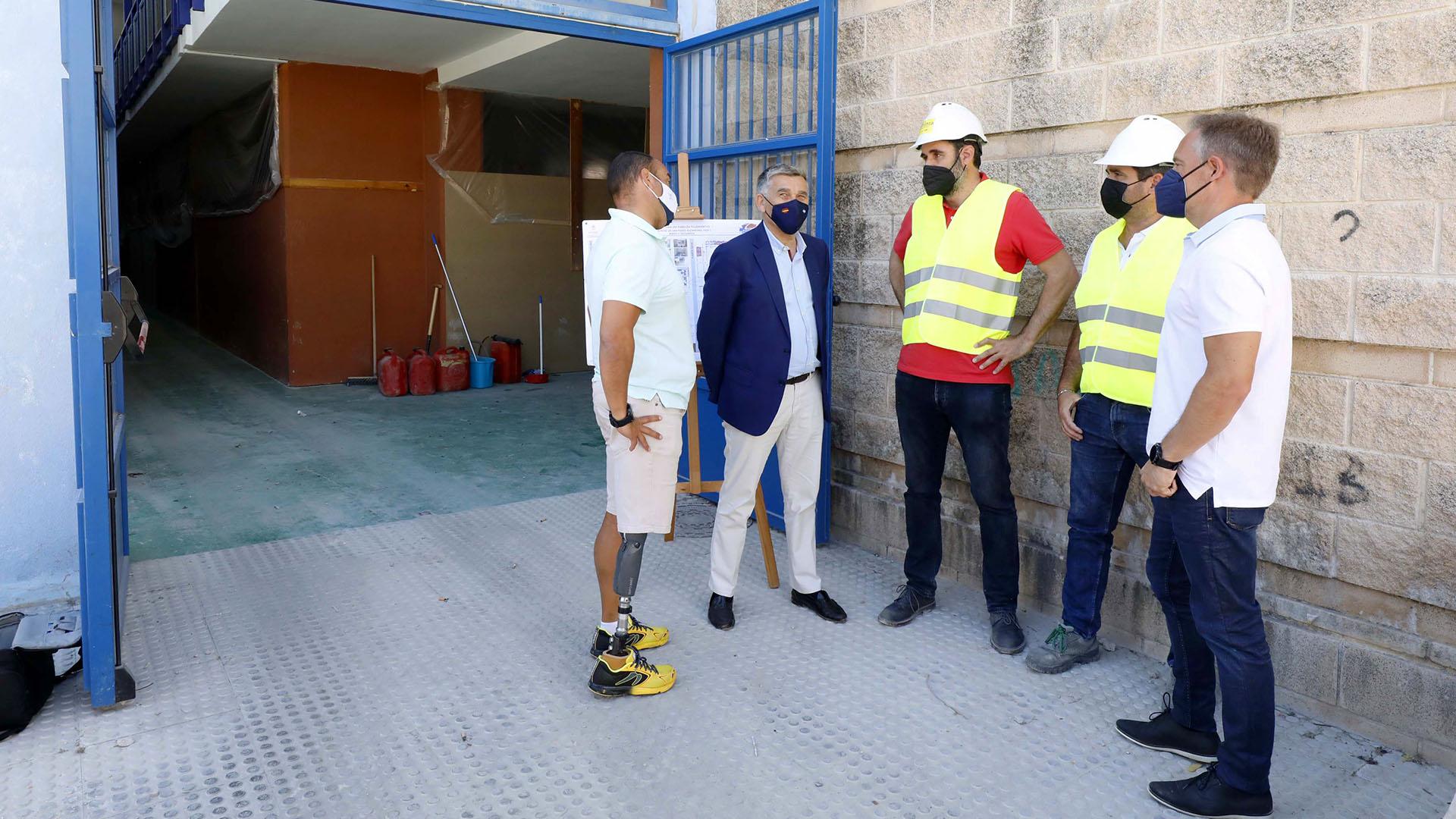 Remodelación del Palacio de los Deportes Elena Benítez de San Pedro Alcántara