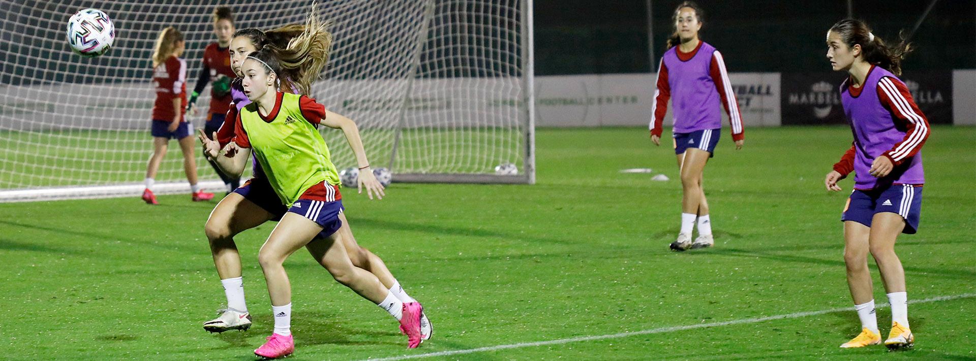 San Pedro Alcántara, sede de los entrenamientos de la Selección Española Femenina Sub20