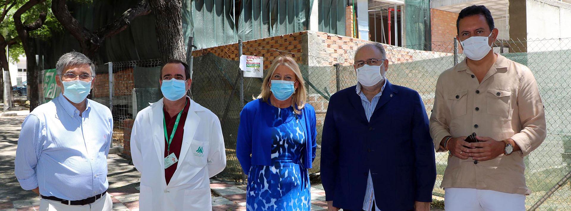 Las obras del centro de salud de San Pedro Alcántara finalizarán este año